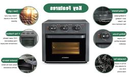 5in1 Air Fryer Toaster Oven 21 Quart Countertop Convection O
