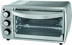 OSTER 6 Slice Convection Toaster Oven for Counter Top w/Broi