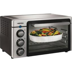 Oster 6085 Channel 6-Slice Toaster Oven, Brushed Stainless S