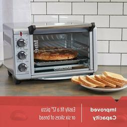 BLACK+DECKER TO3000G 6-Slice 1500W Convection Toaster Oven -