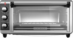 Black Decker TO3250XSB 8 Slice Extra Wide Convection Counter