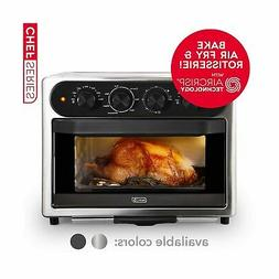 Dash Chef Series 7 in 1 Convection Toaster Oven Cooker, Roti