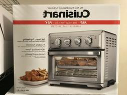 Convection Toaster Oven-Air Fryer with Light, Silver- Cuisin