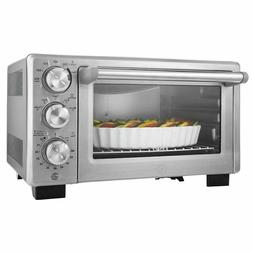 Convection Toaster Oven Brushed Stainless Steel 6 Slice Fami