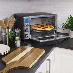 Oster Digital Convection Toaster Oven Black Stainless Steel
