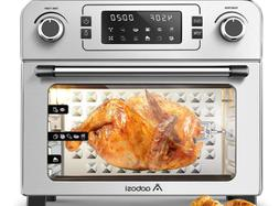 AOBOSI TOASTER OVEN- ELECTRIC -AIR FRYER, ROTISSERIE, CONVEC