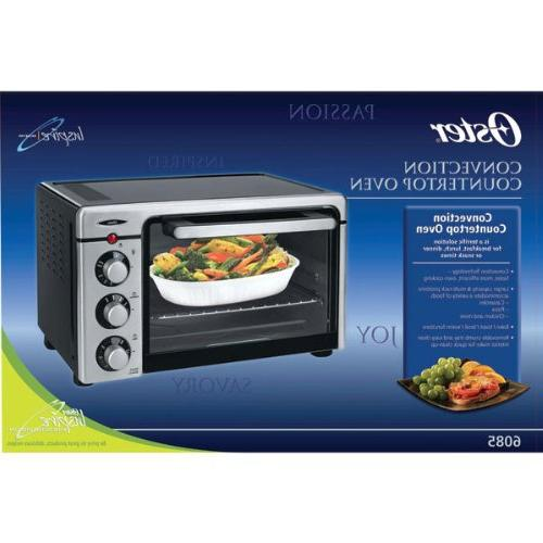 Oster 6085 Toaster Oven, Steel