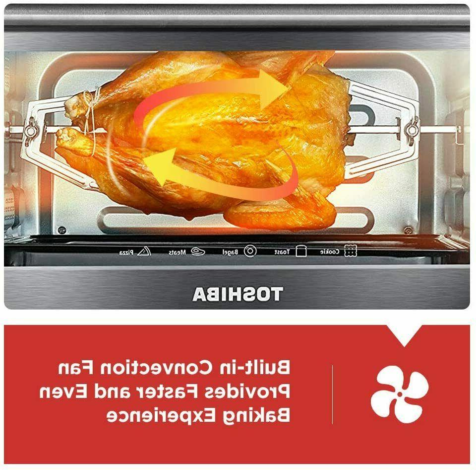 Toshiba AC25CEW-SS Digital Oven with and Functions,