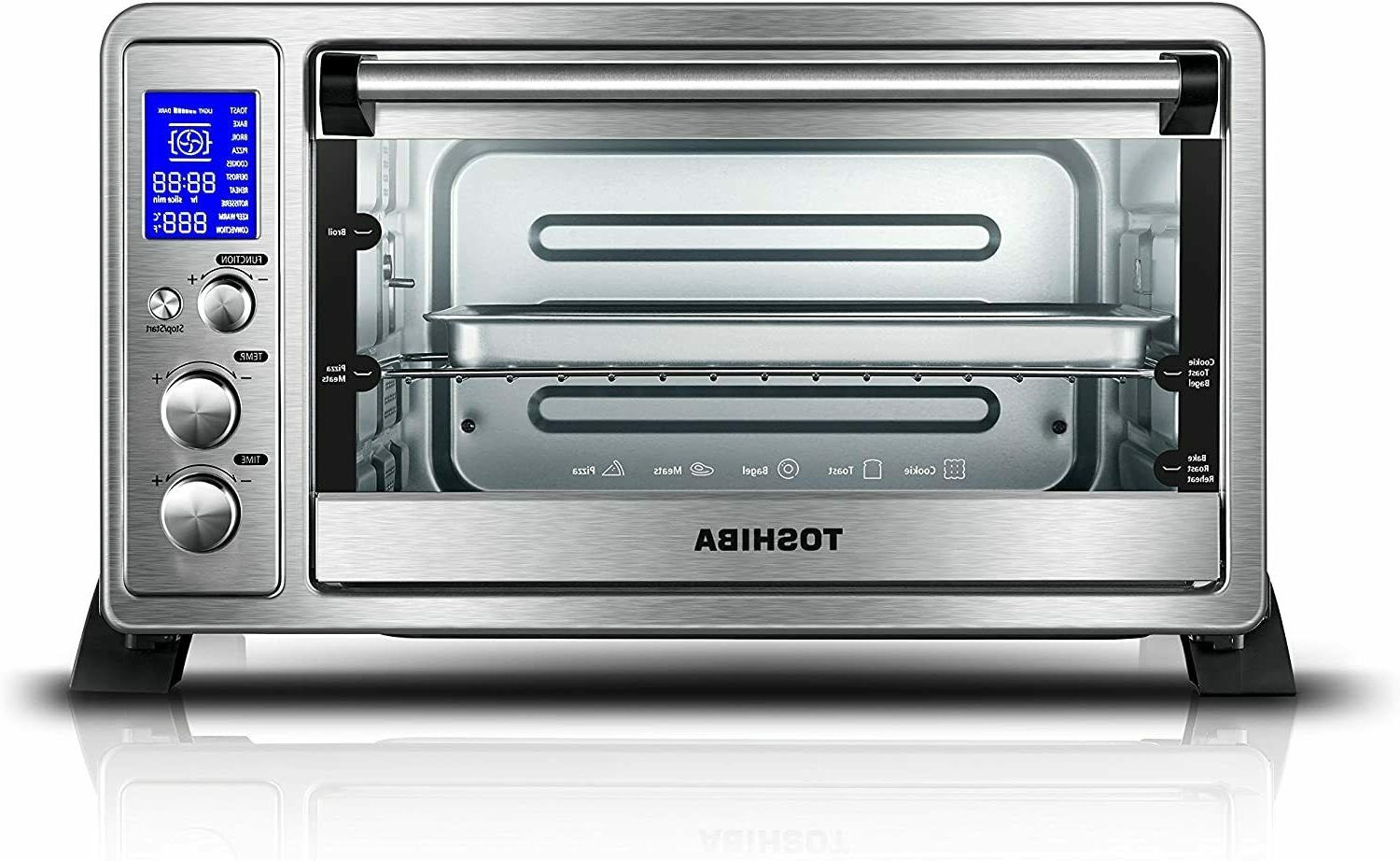ac25cew ss digital toaster oven with convection