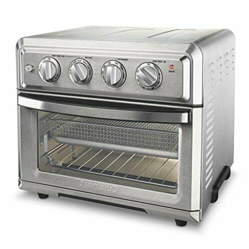 Cuisinart TOA-60 Convection Toaster Oven Air Fryer Light, Stainless