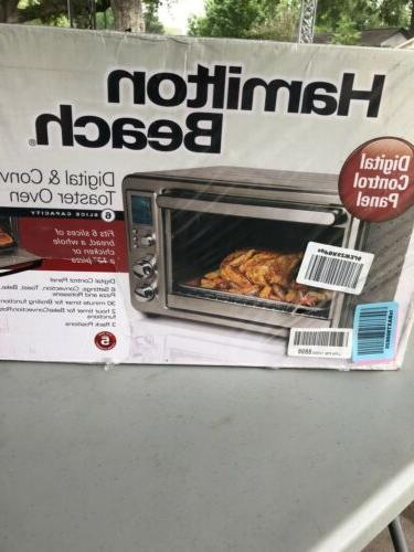 digital and convection toaster oven