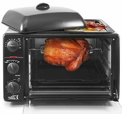 Maximatic ERO-2008SZ 23 Litre Toaster Oven Broiler with Roti