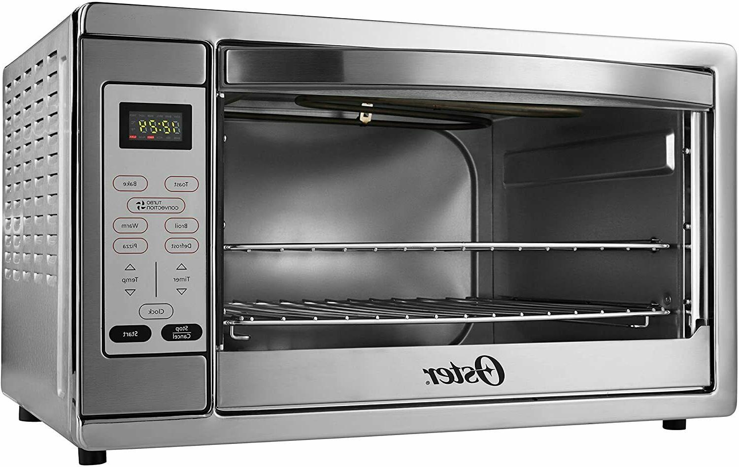 Oster Extra Countertop Oven, Stainless Steel