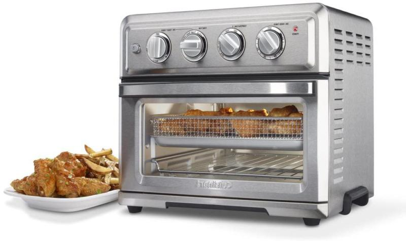 Cuisinart TOA-60 Convection Toaster Oven Air Fryer Light, Silver