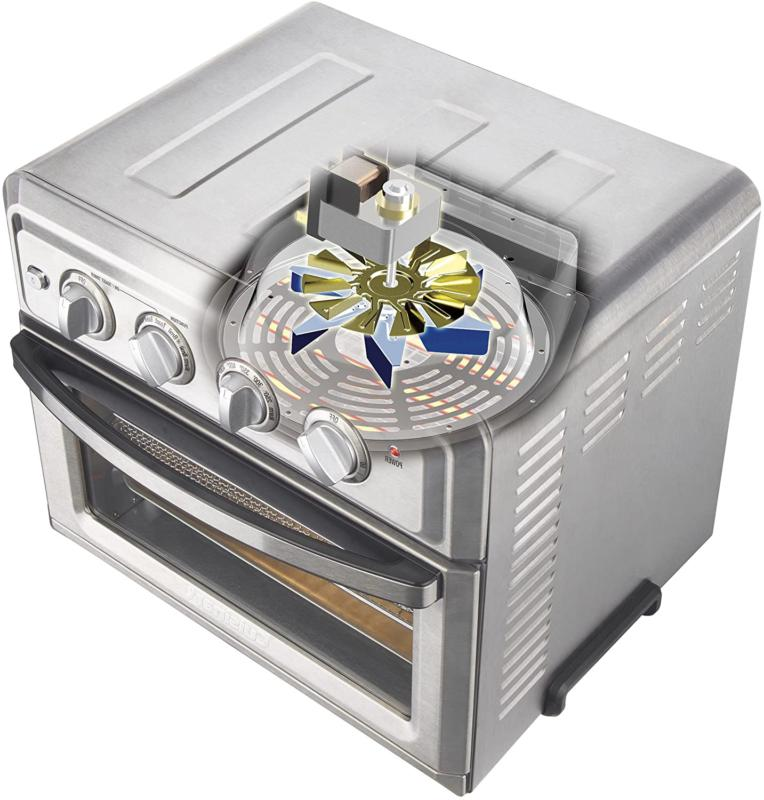 Cuisinart Convection Oven with Light, Silver