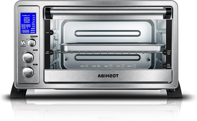 Digital Oven Toaster Convection Cooking W/ 9 Functions Stain