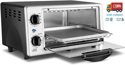 Toaster Oven Baking Cooking Convection Countertop Stainless