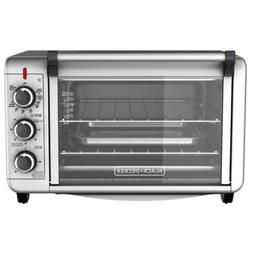 Toaster Oven Electric Convection Deluxe BLACK+DECKER Kitchen